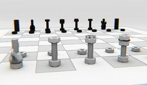 "The ""hardwarerish"" chess game"