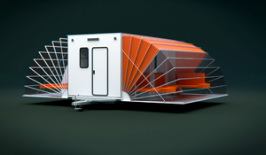 De Markies (The awning) mobile home